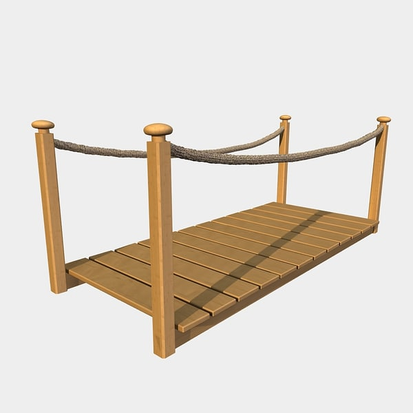 the gallery for gt wooden rope bridge