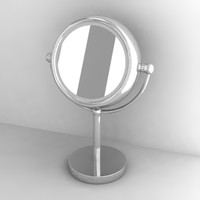 3d model of mirror
