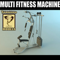 Multi Fitness Machine 3