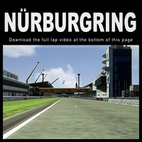 nurburgring race track 3d model