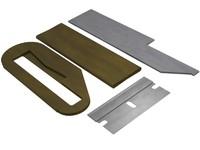 safety razor blade 3d model
