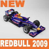 Red Bull F1 2009 Mental Ray