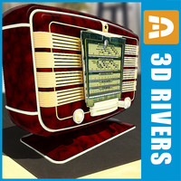 Retro radio 02 by 3DRivers