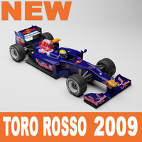 scuderia toro rosso 3d model