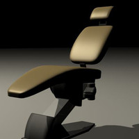dentist chair 3d max