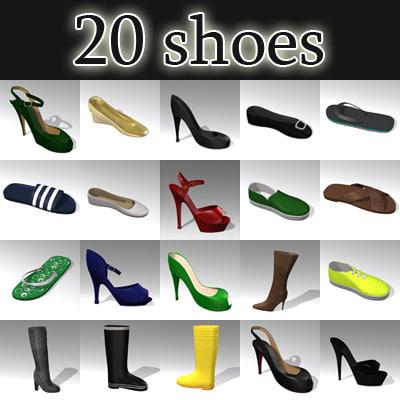 shoes set 20