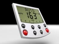 autopilot device 3d model