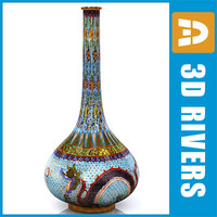 Chinese vase 03 by 3DRivers