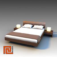 3d max bed virgola
