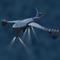 Hunter Killer Aerial by dddfantast