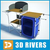 3ds max camp kitchen