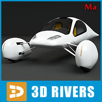 ma futuristic vehicle aptera