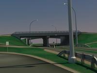 lightwave highway overpass