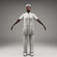 axyz body character 3d model