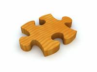 puzzle piece 3d model