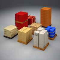 storage elements 3d model