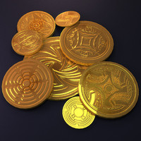 aztec gold money coins