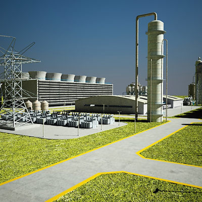Geothermal Power Plant Model Geothermal Power Plant