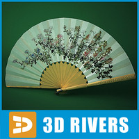 Japanese fan 02 by 3DRivers