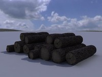 3ds max firewood