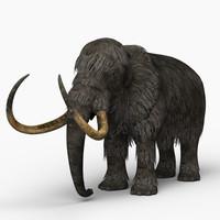 mammoth elephant 3d model