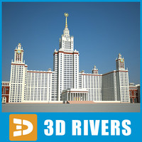 Moscow State University by 3DRivers