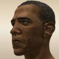 President Obama Head