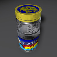3d model peanut jar
