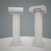 maya ionic column