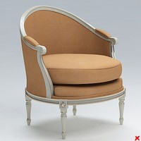 armchair old fashioned 3ds