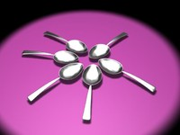 max spoon steel silver