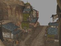 kakariko village 3d model
