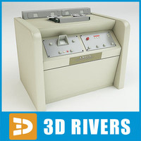 3d model of video tape