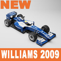 3d williams fw31