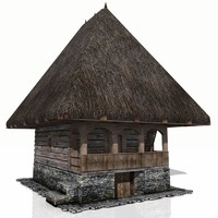 Medieval House XVI Century ( Sumer kitchen  with basement )