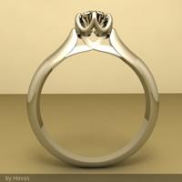 Jasmine gold ring