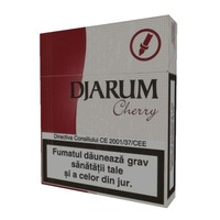djarum cherry 3d model