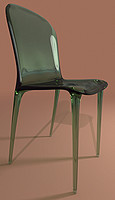 kartell thalya chair 3d model