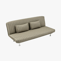 3dsmax couch fabric chrome