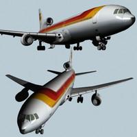 Lockheed L1011 TriStar Passenger aircraft