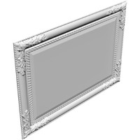 3d wall mirror frame model