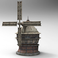 mill old 3d max