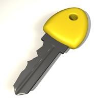 3d max car key