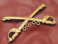 Cavalry Insignia (Gold)