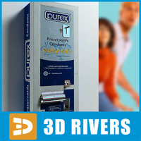 condom vending machine 3d 3ds