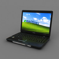 emachines notebook 3d model