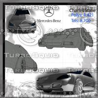 3d mercedes model