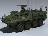 3d obj m1130 cv stryker