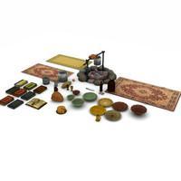 Medieval fantasy props