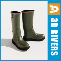 Wellington boots by 3DRivers